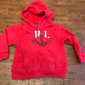 Ralph Lauren red sweatshirt size 12 mo